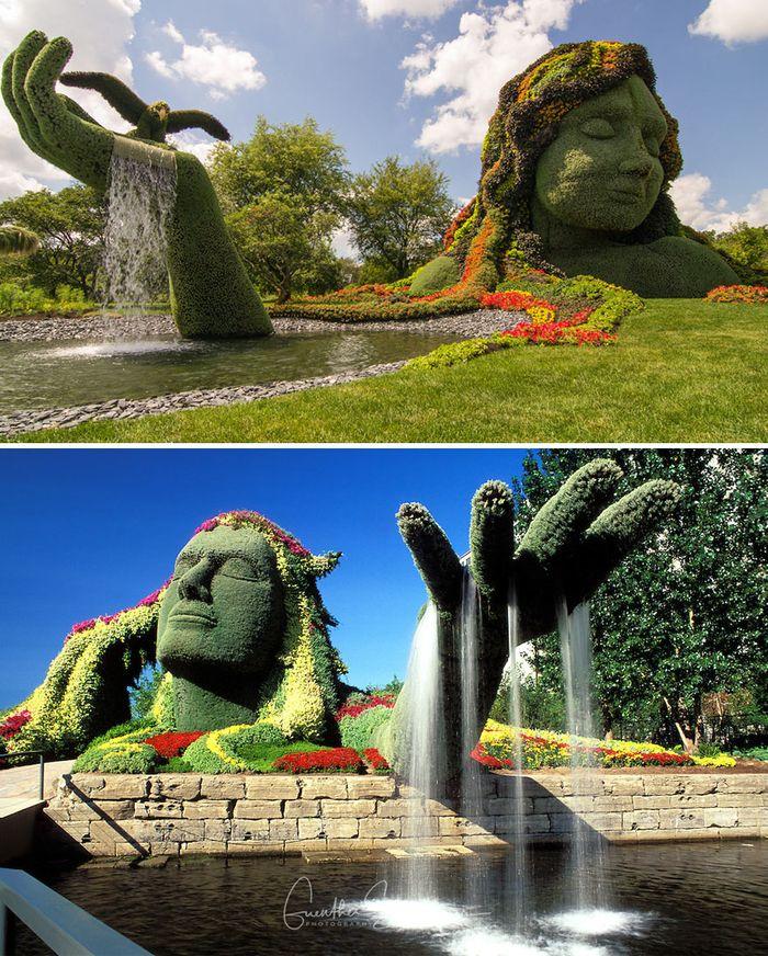 13 Le fontane più particolari e sensazionali del mondo