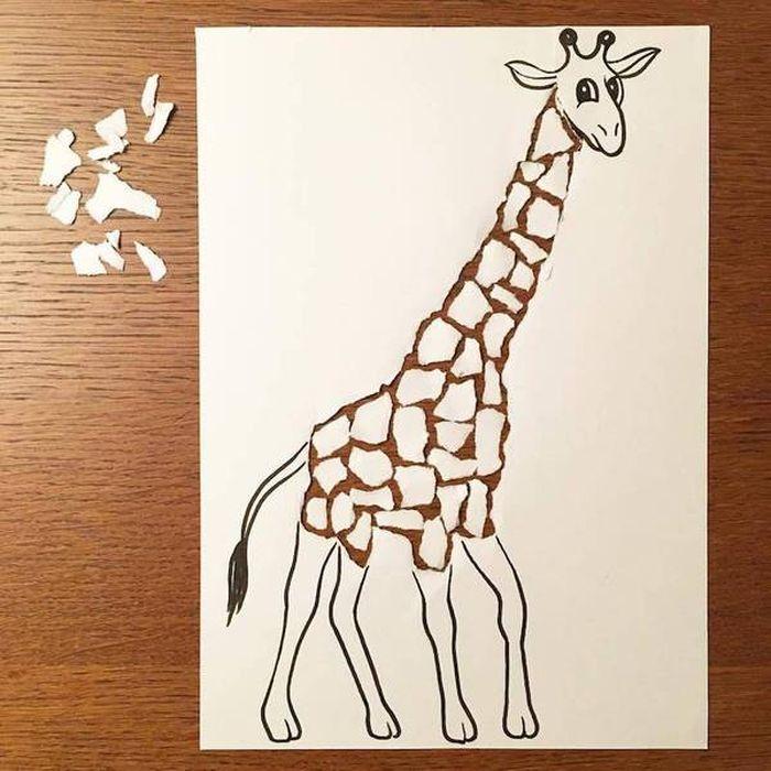 16 Disegni tridimensionali da un foglio di carta