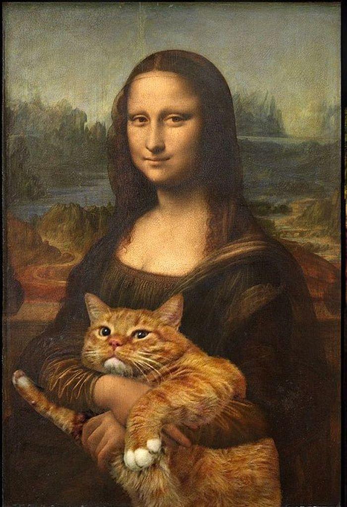20 Il mio gatto nelle opere d'arte più famose