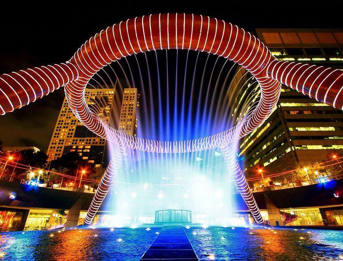 20 Le fontane più particolari e sensazionali del mondo