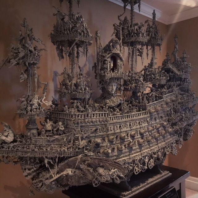 Un modello di nave dei pirati molto speciale