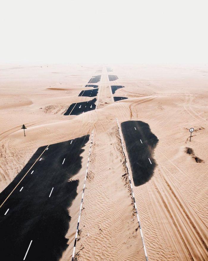 Quando il deserto si riprende ciò che l'uomo gli ha tolto
