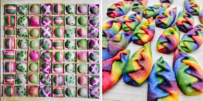 Pasta colorata