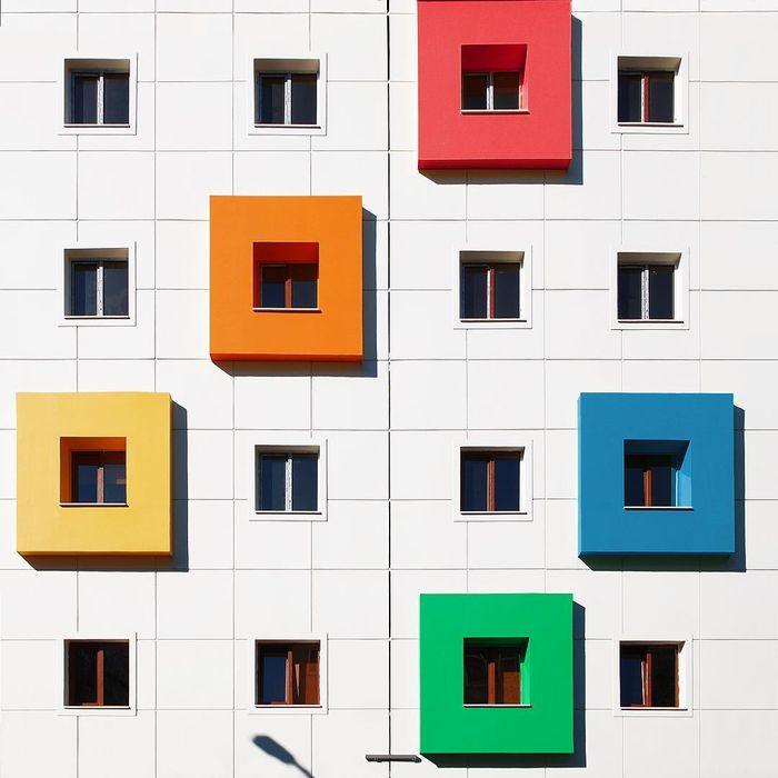 10 Sono incredibilmente colorati gli edifici dei nuovi quartieri di Istanbul