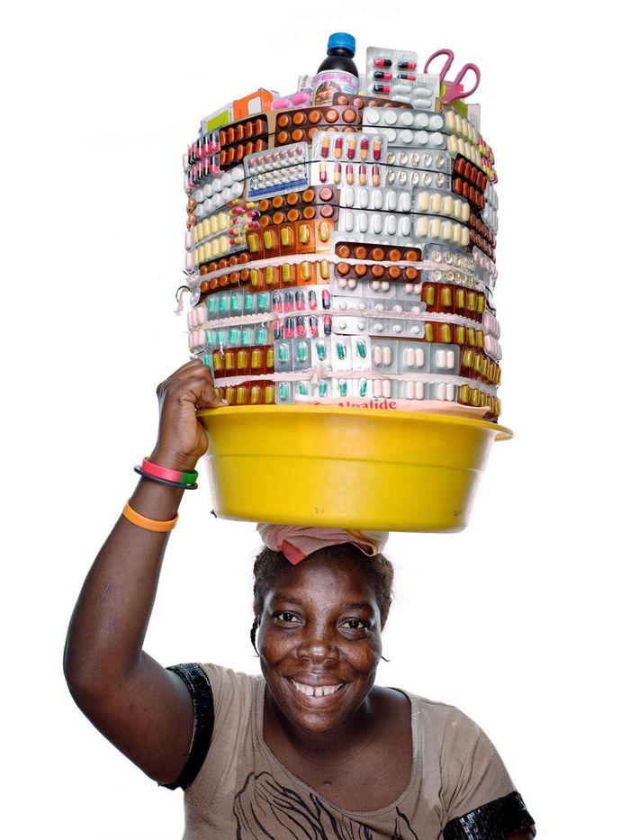 07 Ad Haiti le farmacie sono ambulanti