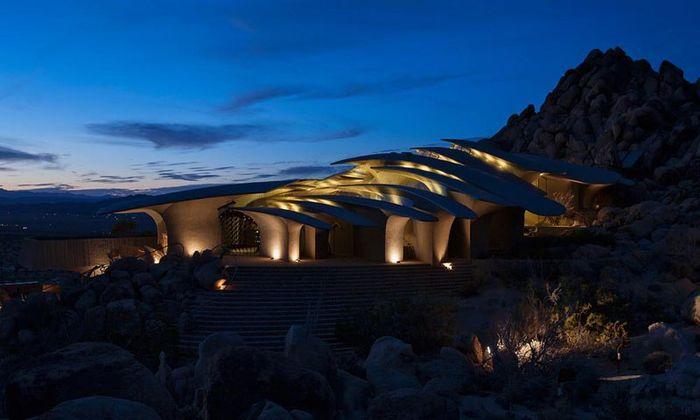 Desert House una casa di lusso mimetizzata nel deserto