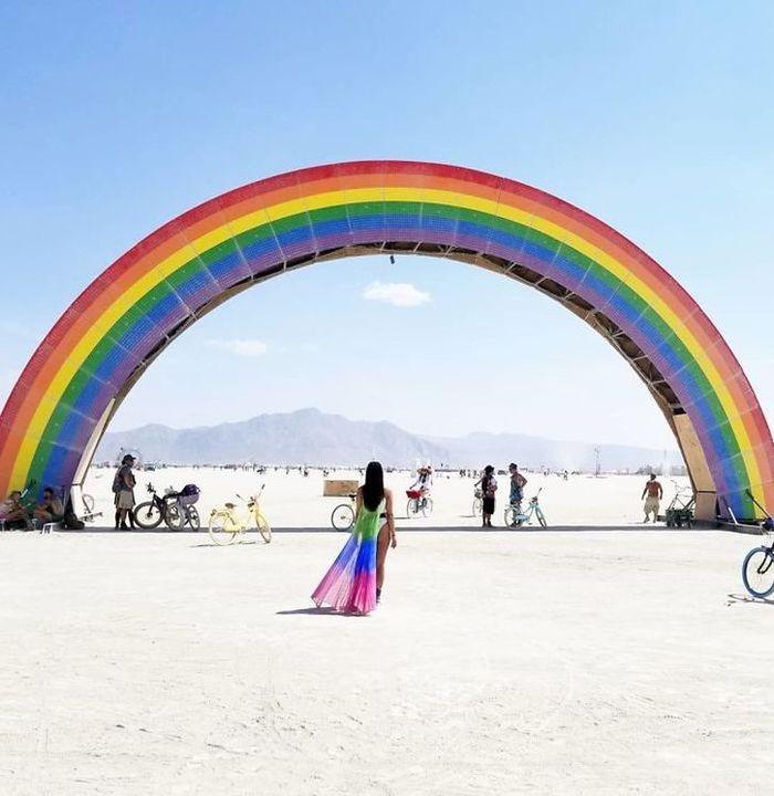 Anche quest'anno il Burning Man festival ha incuriosito e stupito il mondo