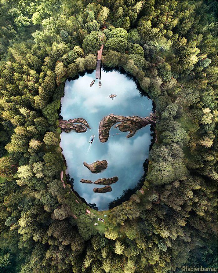05 L'artista francese Fabien Barrau e le sue creazioni artistiche ispirate dalla pareidolia