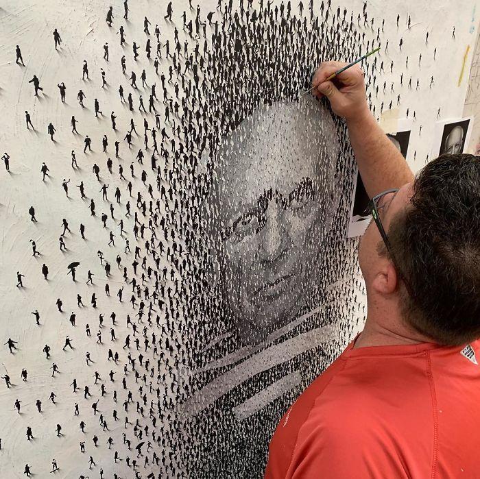 35 Immagini nelle immagini nei dipinti di Craig Alan