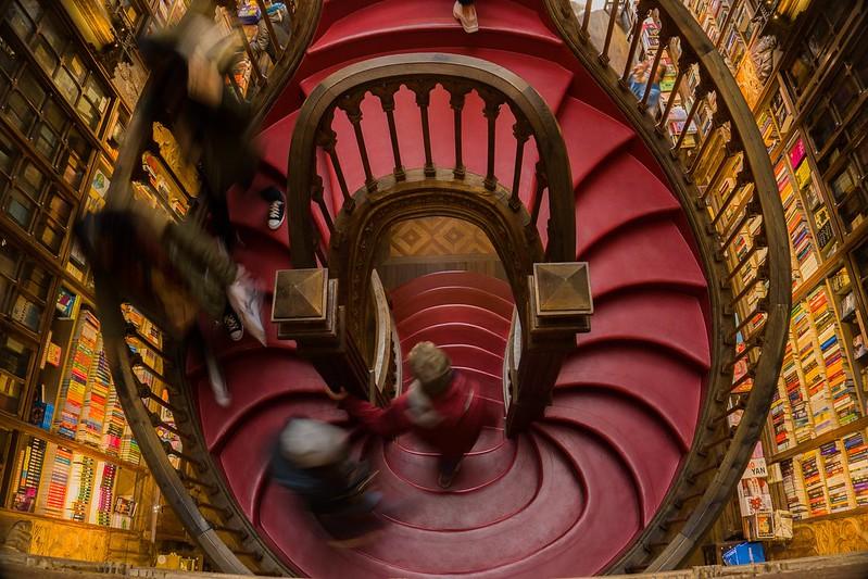 Libreria Lello la libreria di Harry Potter