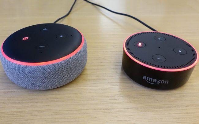 Echo Dot seconda e terza generazione